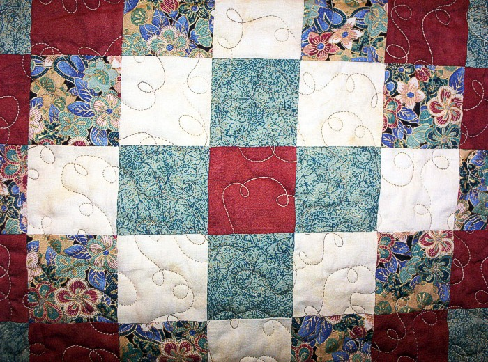 Trip Around The World Quilt Pattern Lap Size : KING SIZE QUILTS